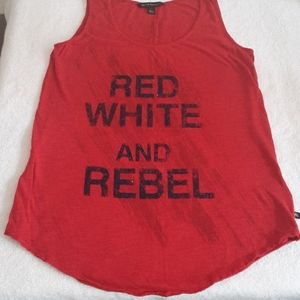 ROCK & REPUBLIC Tank top